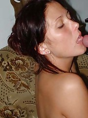 Picture selection of fine kinky wild cocksucking amateur GFs