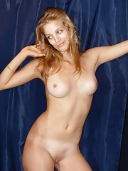 Collection of amateur GFs with smooth slits posing