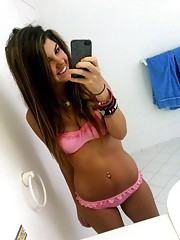 Sizzling hot photo gallery of sexy amateur GFs